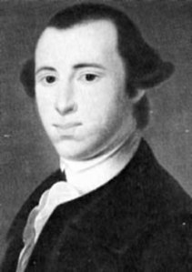 Portrait from Robert G. Ferris (editor), Signers of the Declaration: Historic Places Commemorating the Signing of the Declaration of Independence, published by the National Park Services.