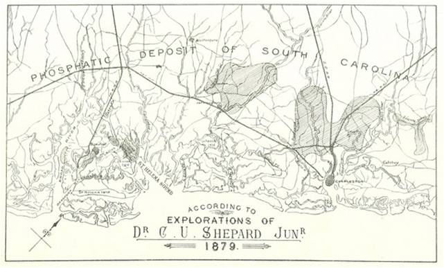 Shepard-Phosphate Map (Beaufort District Collection)