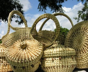 Sweetgrass Baskets by Terri Norris